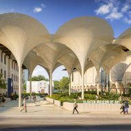 Snøhetta plans petal-shaped canopy for Blanton Museum of Art at University of Texas
