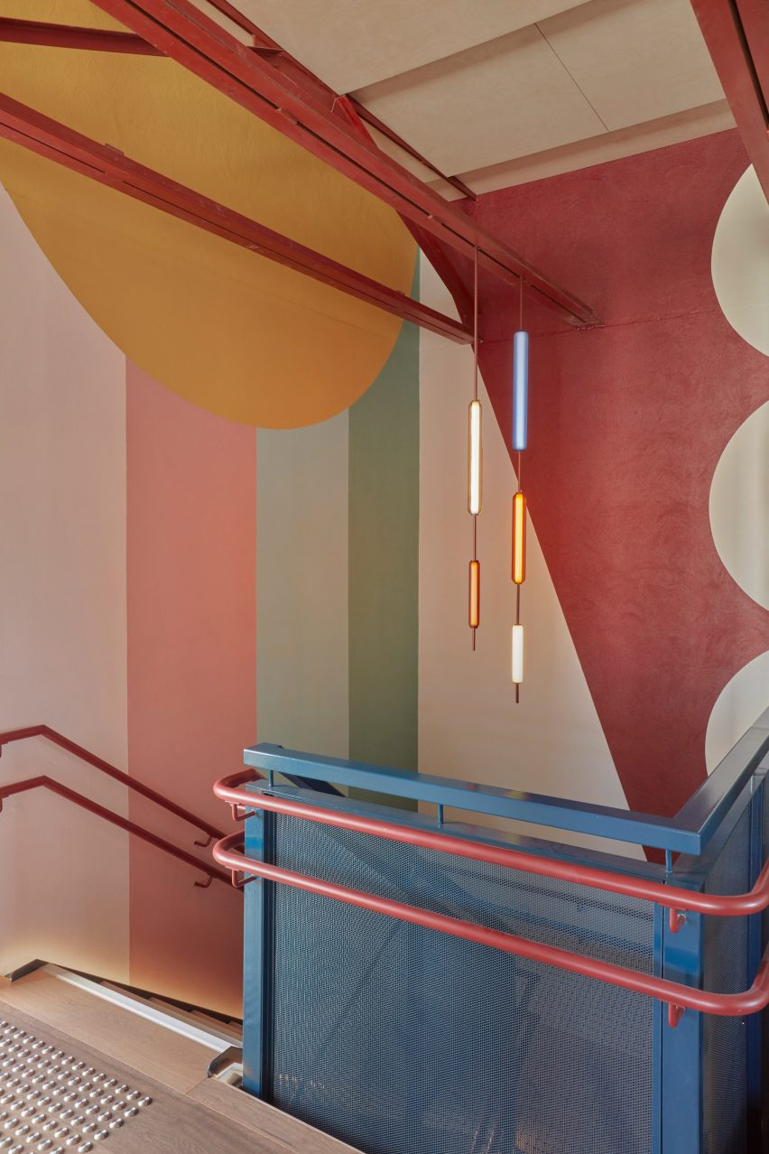 Glass pendants at Brighton Early Learning Centre by Danielle Brustman