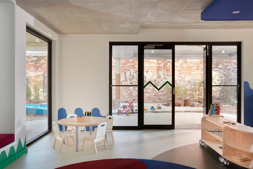 Room in Brighton Early Learning Centre by Danielle Brustman
