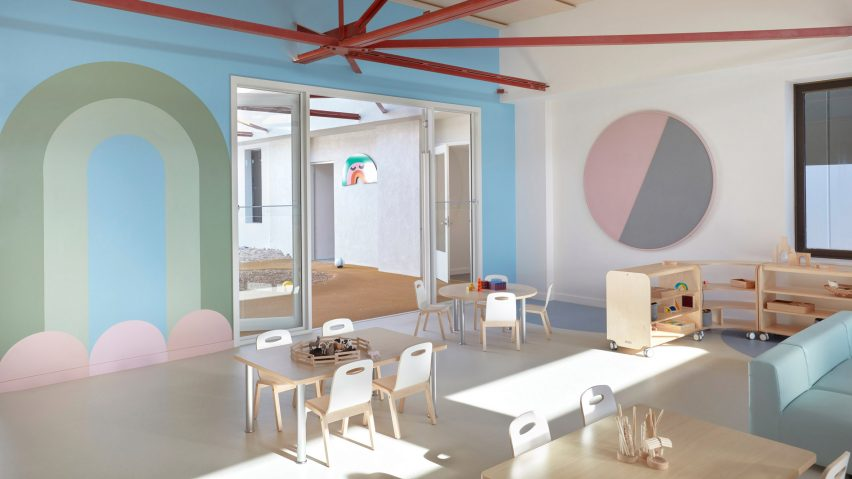 Interior of the Brighton Early Learning Centre by Danielle Brustman
