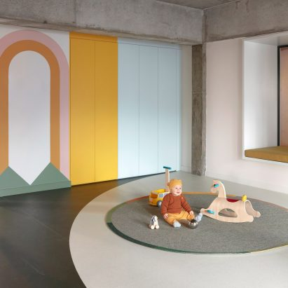 Interior of Brighton Street Early Learning Centre by Danielle Brustman