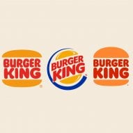 Burger King's new branding features in today's Dezeen Weekly newsletter