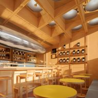 The interiors of C2 Cafe & Bar by Various Associates in Shenzhen, China