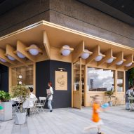 The exterior of C2 Cafe & Bar by Various Associates in Shenzhen, China