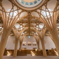 "Marks Barfield Architects designs Cambridge Central Mosque to be ""place of tranquility"""