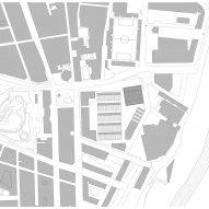 Site overview plan for Camp del Ferro sports centre in Barcelona