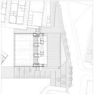 Site plan for Camp del Ferro sports centre in Barcelona