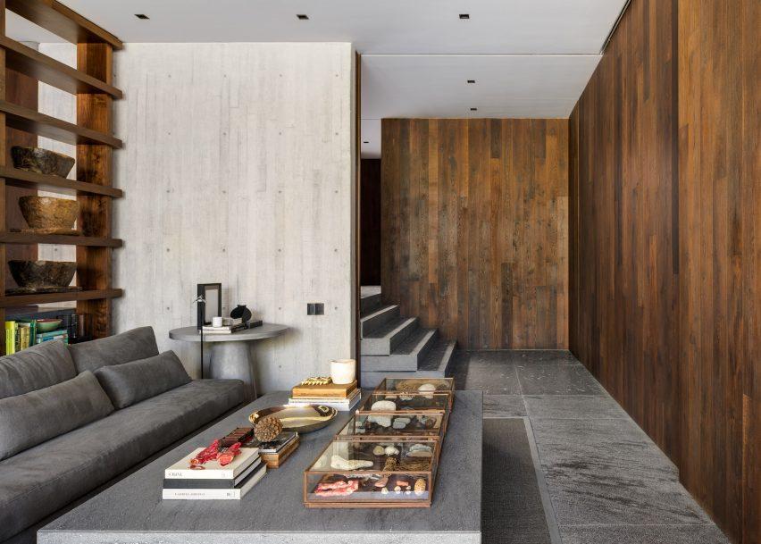 Lounge in Casa Estudio by Manuel Cervantes Estudio