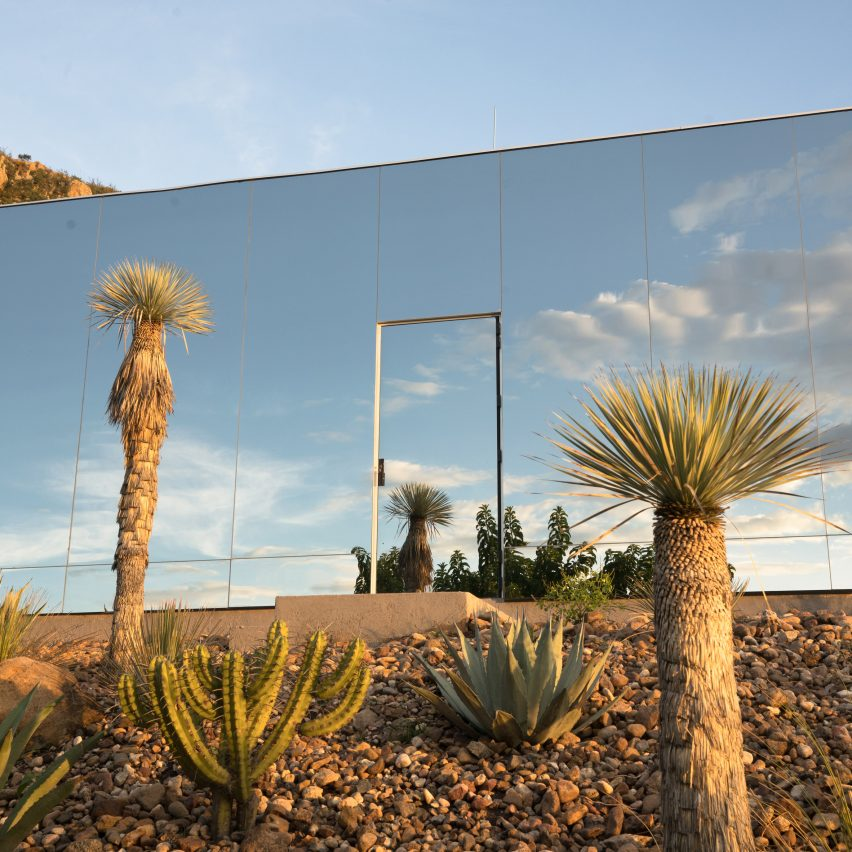 Casa Etérea is a mirrored off-grid cabin on the slopes of the Palo Huérfano volcano