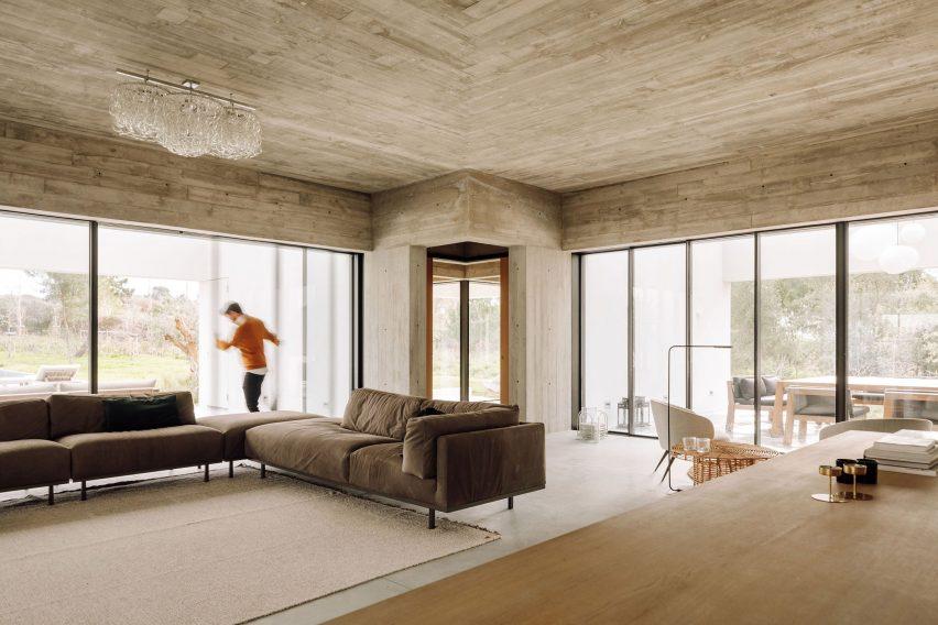 Living room of Casa Meco