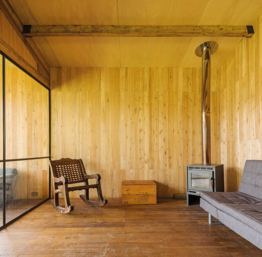 Living area od Casa Ocal