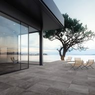 Ceramiche Refin launches Blended porcelain tiles that combine natural stones and sands