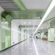 "Chengdu reveals ""futuristic"" stations for its first fully-automated metro line"