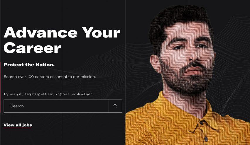 CIA website redesign