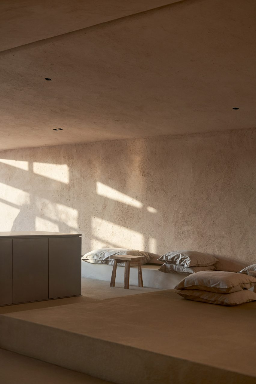 Clayworks Rustic clay plaster finish