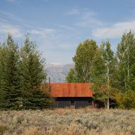 Eric Logan adds steel roof to his home in the Rocky Mountains