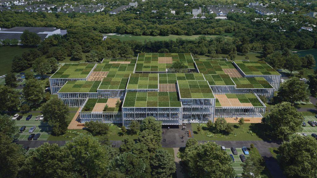 3XN designs modular hub for two robot developers in Denmark