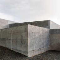 The exterior of Concrete House by RAW Architecture Workshop in East Sussex