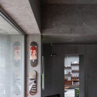 Inside Concrete House by RAW Architecture Workshop in East Sussex