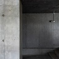 The interiors of Concrete House by RAW Architecture Workshop in East Sussex