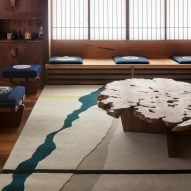 Conoid II rug by George Nakashima for Edward Fields
