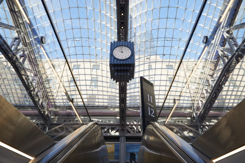 Daniel Patrick Moynihan Train Hall in New York