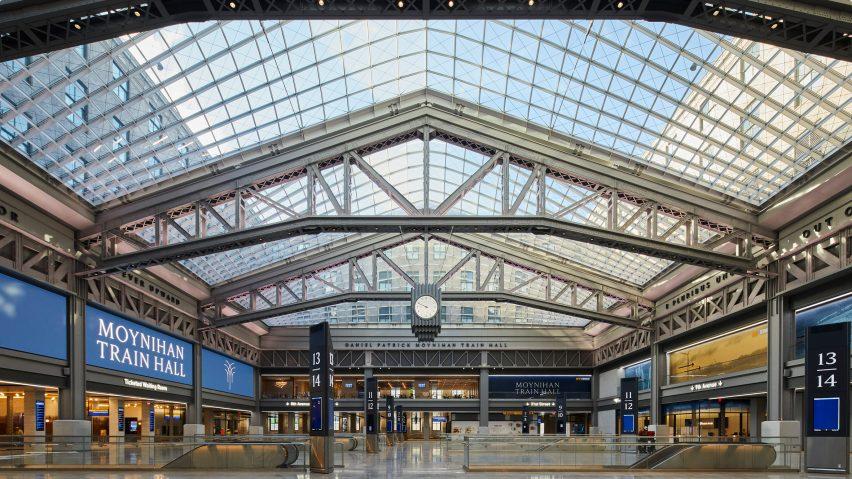 Daniel Patrick Moynihan Train Hall in New York
