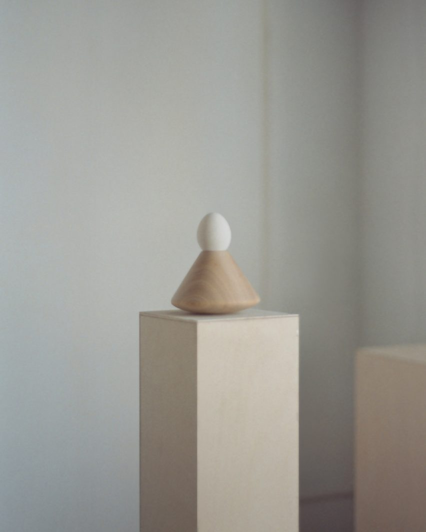 Egg Rack #12 from The Egg Rack Made a Disclaimer by Liang-Jung Chen