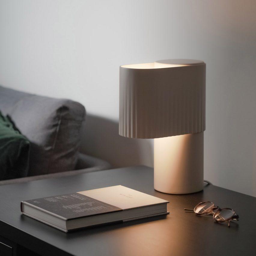Encore Table Light by Sam Gwilt for Gantri in Stone