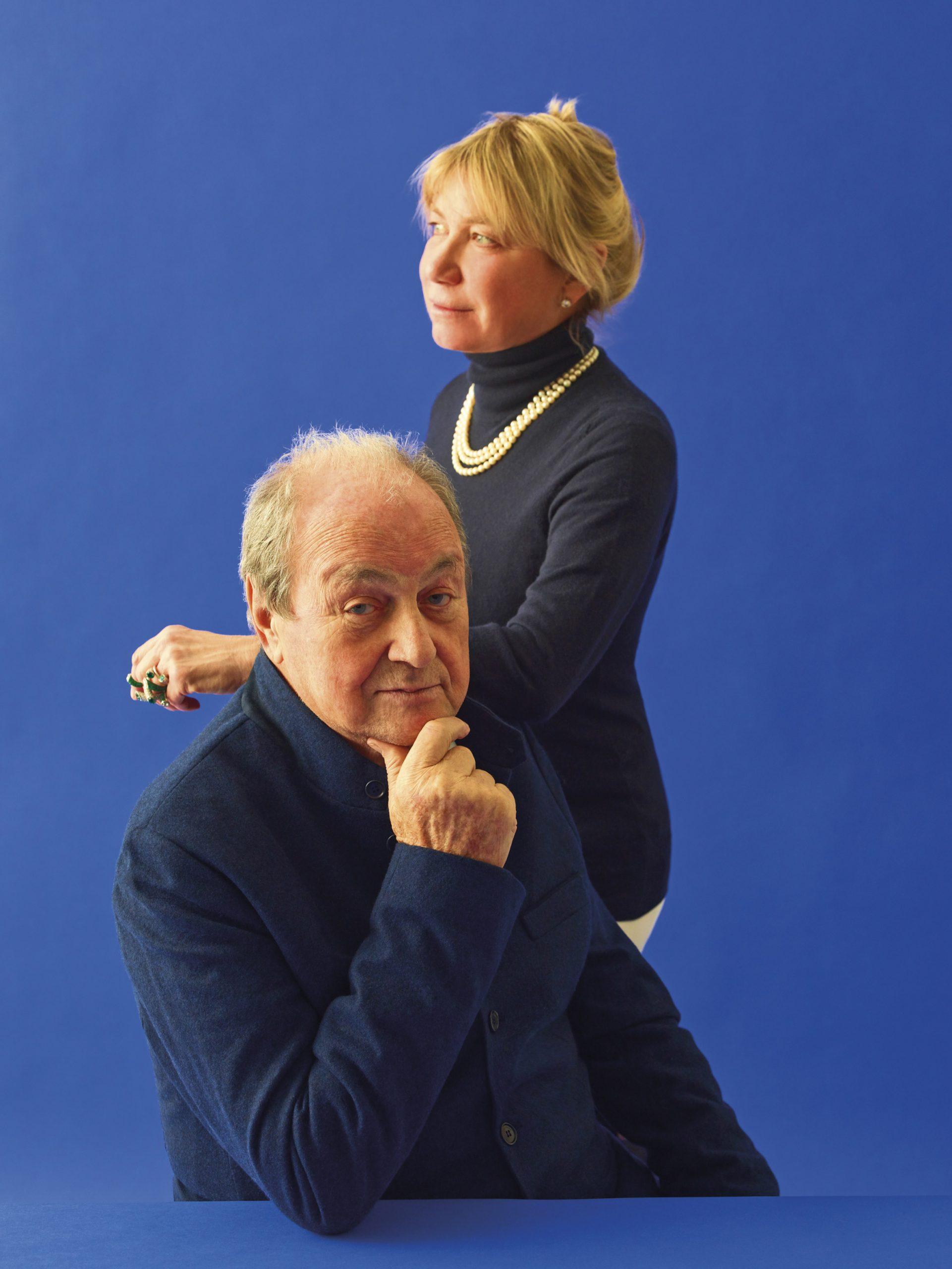 Ernesto Gismondi and Carlotta de Bevilacqua