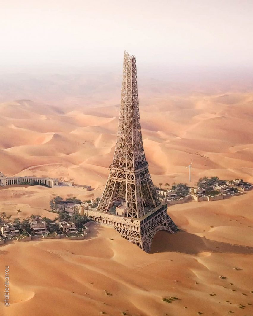 Paris from News from the Future by Fabien Barrau