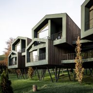 "Network of Architecture raises ""treehouse"" hotel on stilts above park in South Tyrol"
