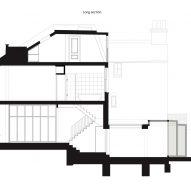 Section of Frame House by Bureau de Change