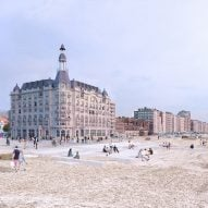 "David Chipperfield Architects set ""to restore the grandeur"" of Nieuwpoort's Grand Hotel"