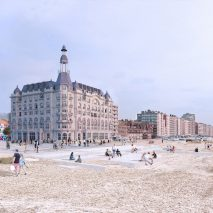 Grand Hotel in Nieuwpoort, Belgium by David Chipperfield Architects