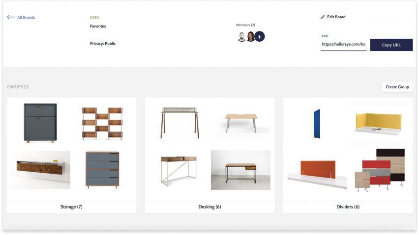Hello Raye furniture