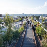 "Secret proposal for ""Even Higher Line"" on top of New York's High Line revealed"