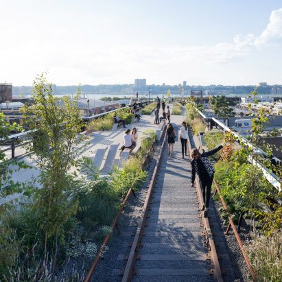 High Line extension plans, photo from original completion in 2014