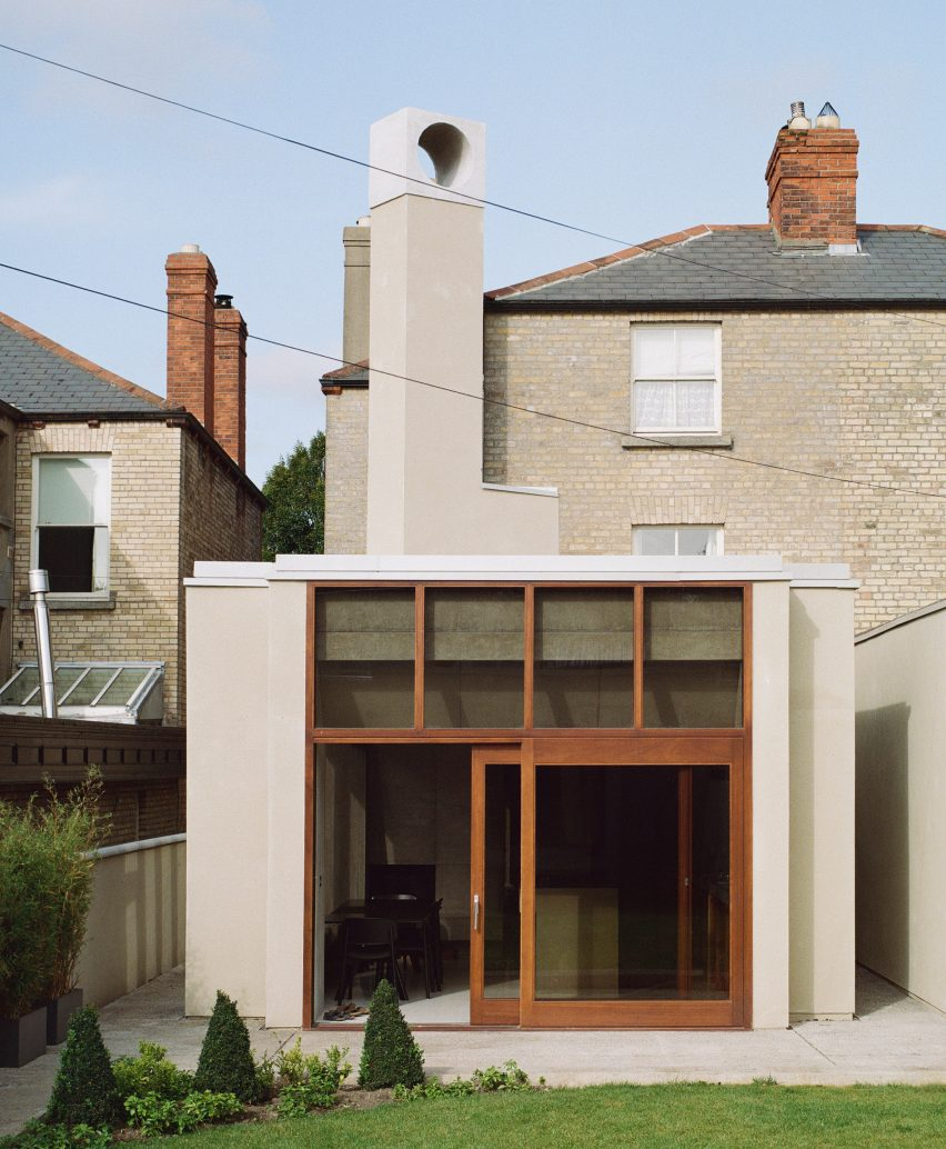 The rendered exterior of the Hollybrook Road extension by TOB Architect
