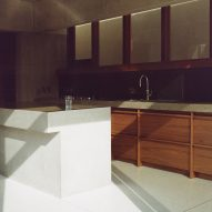 The kitchen in the Hollybrook Road extension by TOB Architect