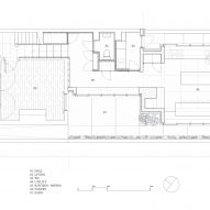 The floor plan for the Hollybrook Road extension by TOB Architect
