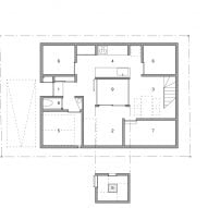 House with a Light Void, ground floor plan