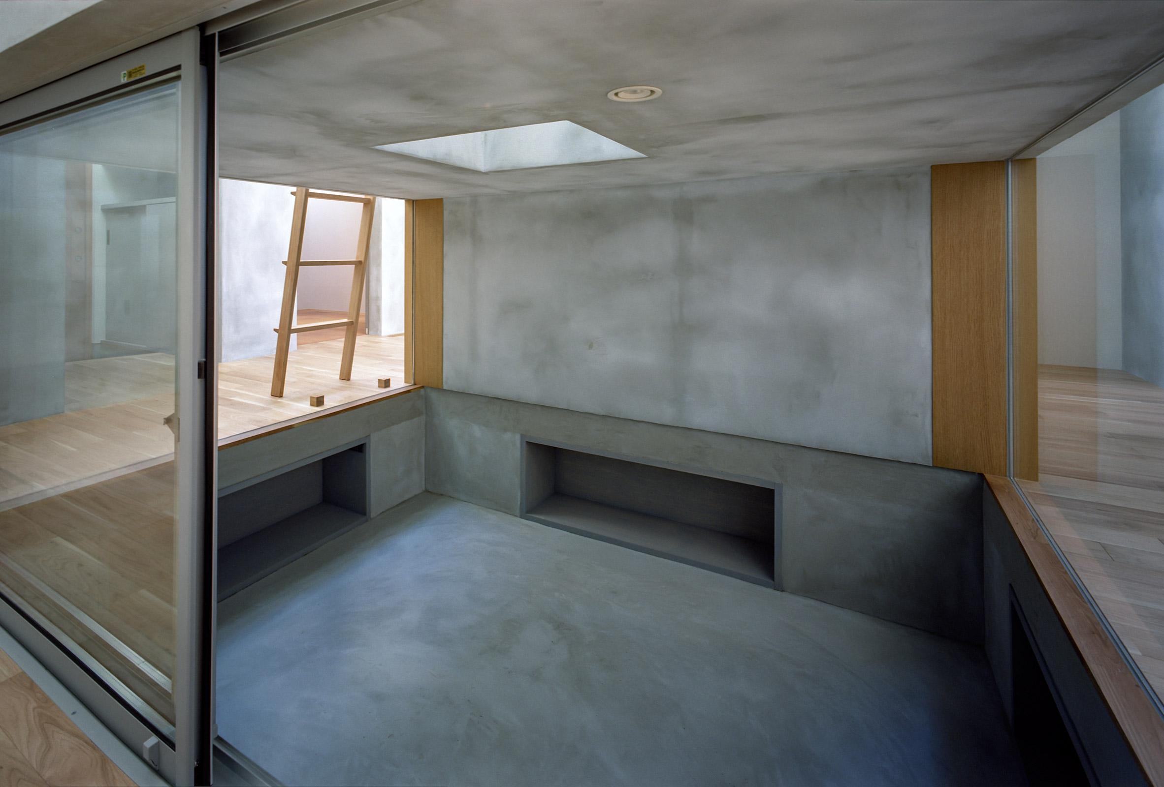 Sunken room