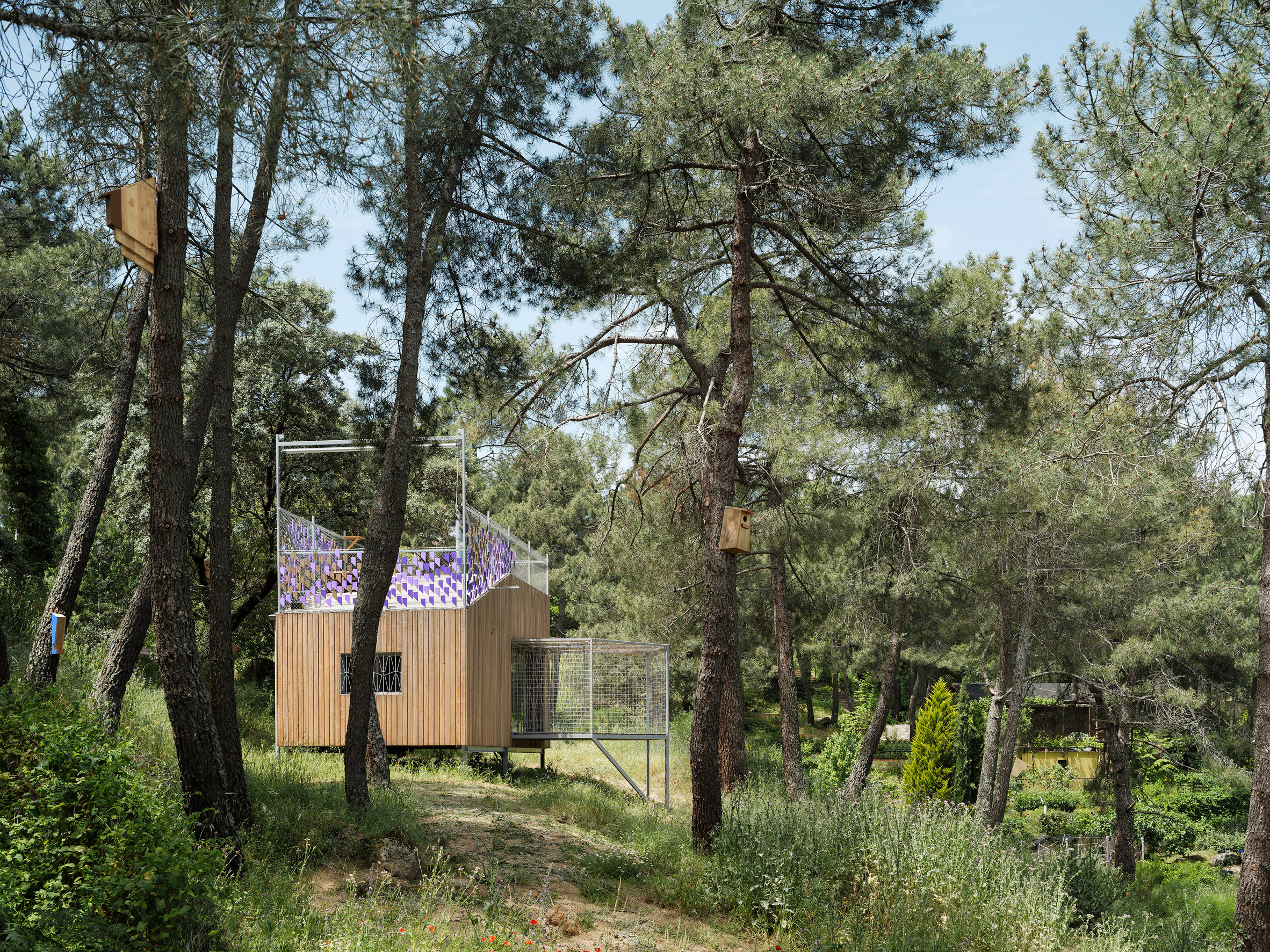Timber cabin by Husos Architects