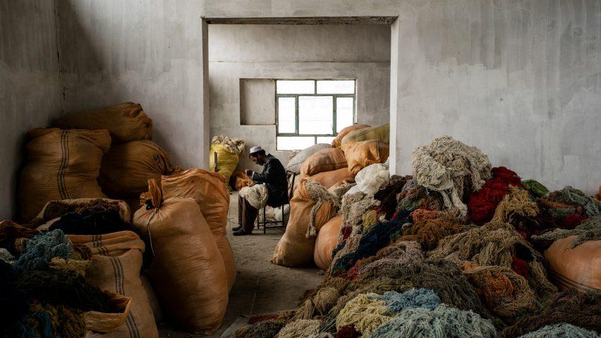 ISHKAR carpet production
