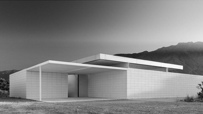 Desert House 1 en Palm Springs, California, por Jim Jennings