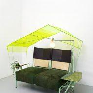 Grass Green Settee by Jonathan Trayte