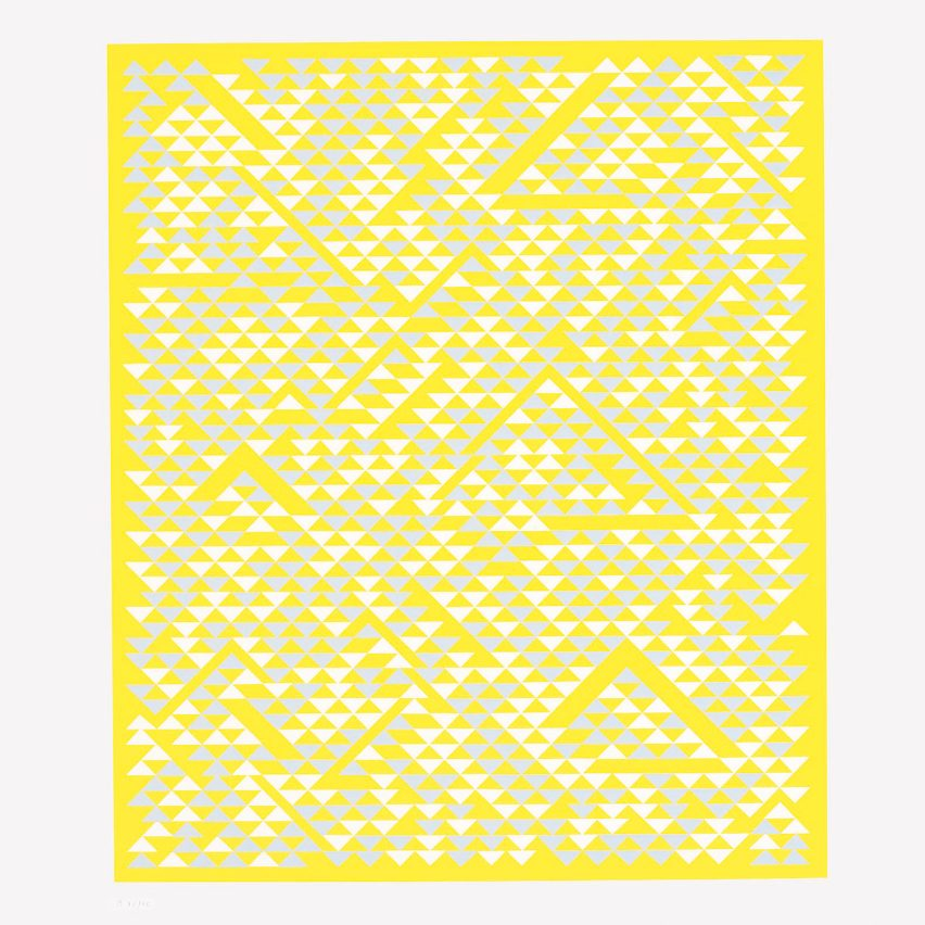 B by Anni Albers, 1968, Picture credit: copyright © 2020 The Josef and Anni Albers Foundation/Artists Rights Society (ARS), New York/DACS, London / Photo: Tim Nighswander/Imaging4Art (page 408)