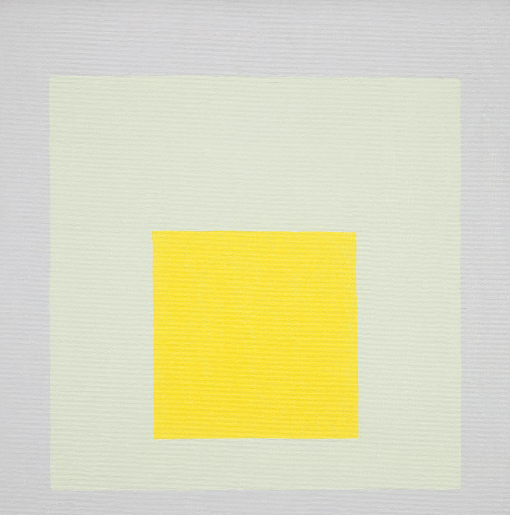 Study for Homage to the Square: Impact by Josef Albers, 1965, Picture credit: © 2020 The Josef and Anni Albers Foundation/Artists Rights Society (ARS), New York/DACS, London / Photo: Tim Nighswander/Imaging4Art