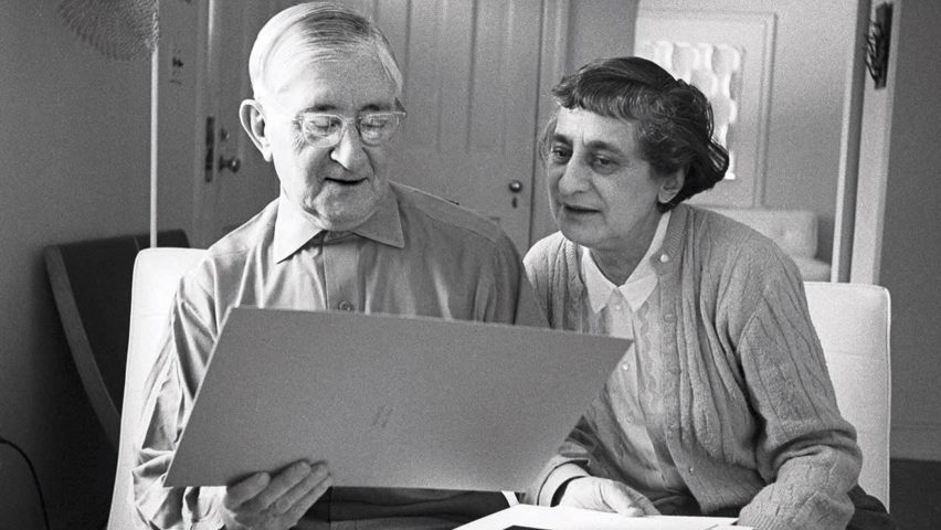 Josef and Anni Albers, Picture credit: Photo © John T. Hill. Courtesy of the Josef and Anni Albers Foundation. (page 468)